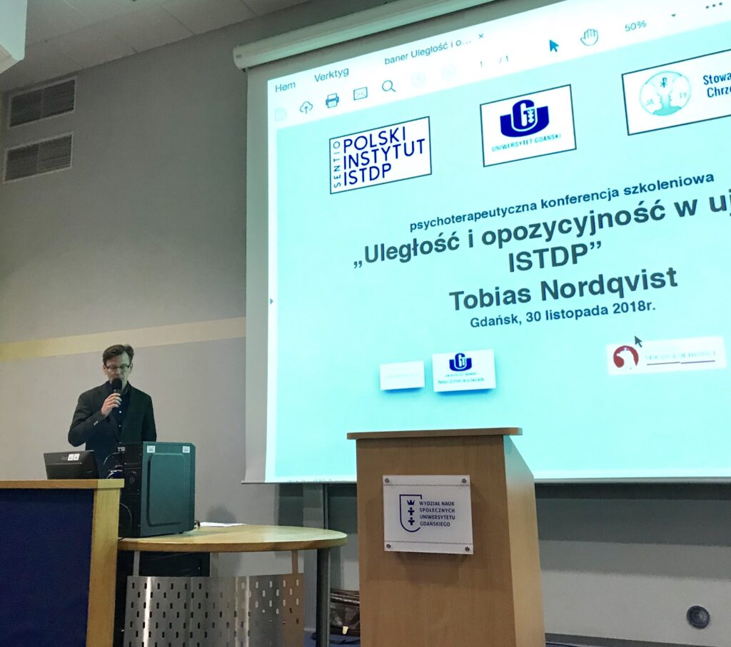 """Konferencja pt. """"Uległość i opozycyjność w ujęciu ISTDP"""""""